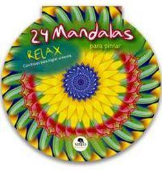 24 MANDALAS RELAX                    (CIRCULAR/PARA PINTAR)