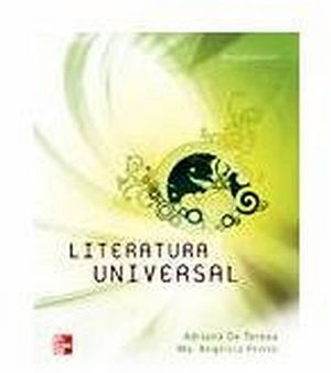 LITERATURA UNIVERSAL 3ED.