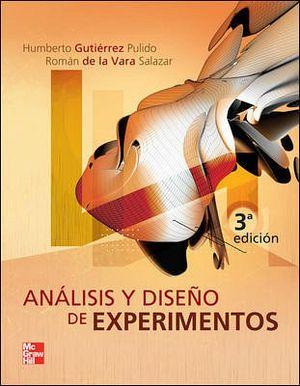 ANALISIS Y DISEÑO DE EXPERIMENTOS 3ED.