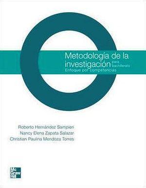 METODOLOGIA DE LA INVESTIGACION BACH. -COMPETENCIAS-