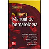 WILLIAMS MANUAL DE HEMATOLOGIA 8ED.