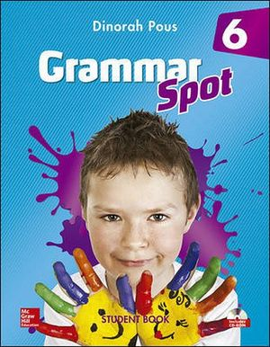 GRAMMAR SPOT 6 STUDENT BOOK C/CD