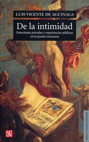 DE LA INTIMIDAD