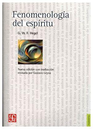 FENOMENOLOGIA DEL ESPIRITU (NVA.ED.)