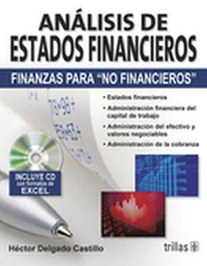 ANALISIS DE ESTADOS FINANCIEROS (FINANZAS PARA NO FIN.) C/CD 2ED.