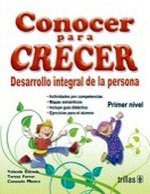 CONOCER PARA CRECER 1ER. NIVEL (PREESC.)