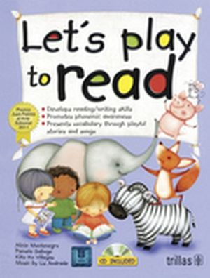 LET'S PLAY TO READ K-3 C/CD -DEVELOPS READING/WRITING-