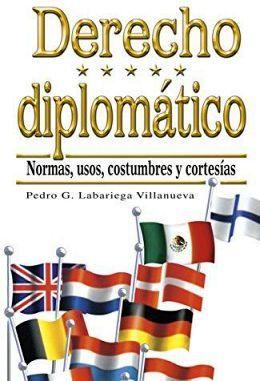 DERECHO DIPLOMATICO 5ED.