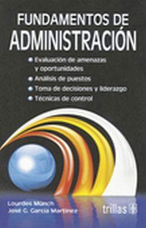 FUNDAMENTOS DE ADMINISTRACION (LIBRO) 10ED.