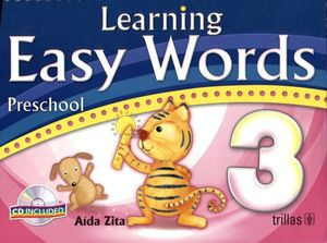 LEARNING EASY WORDS 3RO C/CD (C/ESPIRAL) 3ED.