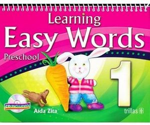 LEARNING EASY WORDS 1RO C/CD (C/ESPIRAL) 4ED.