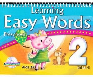 LEARNING EASY WORDS 2DO C/CD (C/ESPIRAL) 4ED.