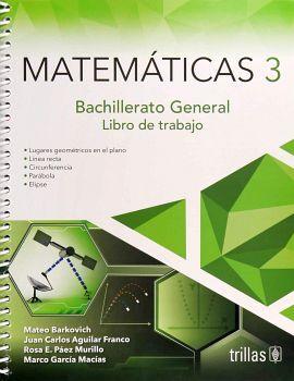 MATEMATICAS 3 BACH. 2ED. (LIBRO DE TRABAJO BACH. GENERAL)