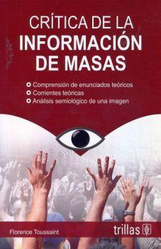 CRITICA DE LA INFORMACION DE MASAS 5ED.