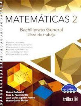 MATEMATICAS 2 BACH. 3ED. -LIBRO DE TRABAJO-