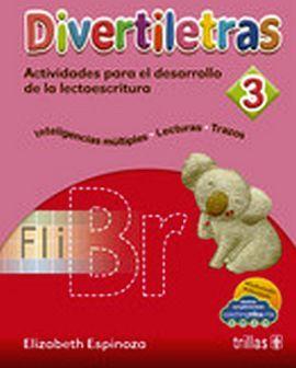 DIVERTILETRAS 3 PREESC. 3ED. -ACT.P/EL DESARROLLO DE LA LECTO.-