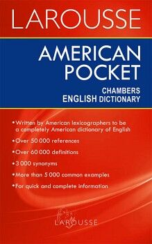 AMERICAN POCKET CHAMBERS ENGLISH DICTIONARY -NVA PRESENTACION-