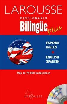 DICCIONARIO BILINGÜE PLUS ESPAÑOL/INGLÉS  ENGLISH/SPANISH
