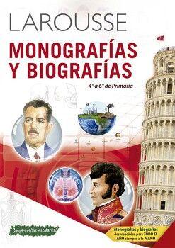 MONOGRAFÍAS Y BIOGRAFÍAS DE 4° A 6° DE PRIMARIA