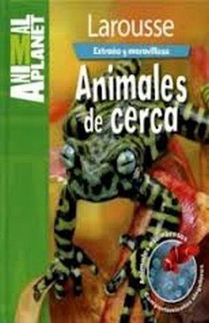 EXTRAÑO Y MARAVILLOSO -ANIMALES DE CERCA-