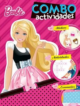 COMBO ACTIVIDADES -BARBIE-          (C/ESPIRAL)