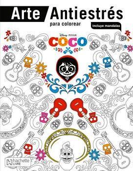 COCO -ARTE ANTIESTRES P/COLOREAR-         (C/MANDALAS)