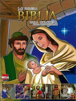 MI PRIMERA BIBLIA PARA COLOREAR (NUEVO TESTAMENTO) V.MOD C/U