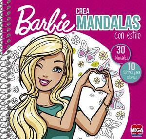 BARBIE -CREA MANDALAS CON ESTILO-