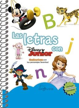 LETRAS CON DISNEY JUNIOR, LAS             (C/PLUMON)