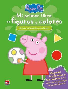PEPPA PIG -MI PRIMER LIBRO DE FIGURAS Y COLORES- (C/STICKERS)