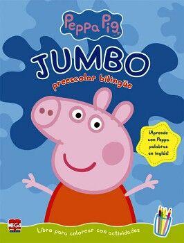 JUMBO PREESCOLAR BILINGÜE PEPPA PIG