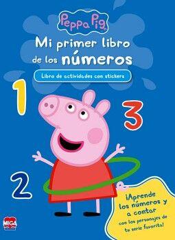PEPPA PIG -MI PRIMER LIBRO DE LOS NUMEROS- (C/STICKERS)