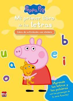 PEPPA PIG -MI PRIMER LIBRO DE LAS LETRAS- (C/STICKERS)