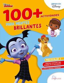 100+ACTIVIDADES PARA MENTES BRILLANTES DISNEY. PREESCOLAR 3