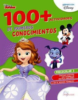 100+ACTIVIDADES DE PRIMEROS CONOCIMIENTOS DISNEY. PREESCOLAR 3