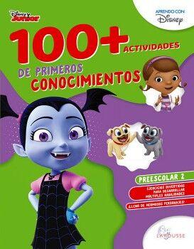 100+ACTIVIDADES DE PRIMEROS CONOCIMIENTOS DISNEY. PREESCOLAR 2