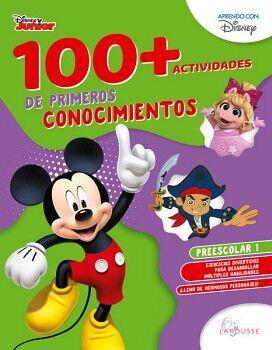 100+ACTIVIDADES DE PRIMEROS CONOCIMIENTOS DISNEY. PREESCOLAR 1