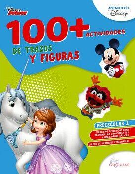 100+ACTIVIDADES DE TRAZOS Y FIGURAS DISNEY. PREESCOLAR 2