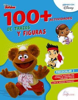 100+ACTIVIDADES DE TRAZOS Y FIGURAS DISNEY. PREESCOLAR 3