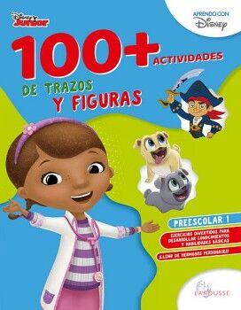 100+ACTIVIDADES DE TRAZOS Y FIGURAS DISNEY. PREESCOLAR 1