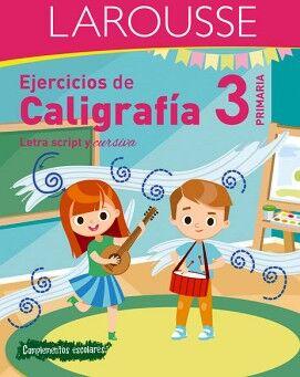 EJERCICIOS DE CALIGRAFÍA 3° DE PRIMARIA