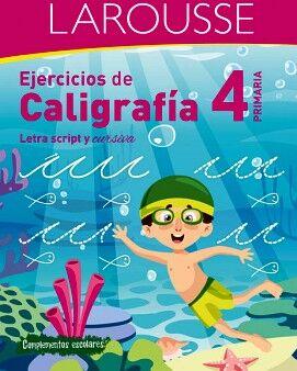 EJERCICIOS DE CALIGRAFÍA 4° DE PRIMARIA