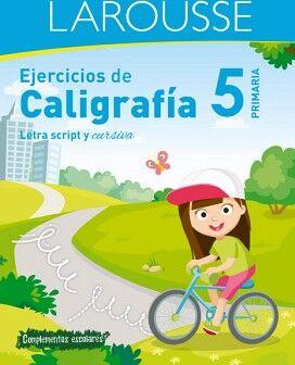 EJERCICIOS DE CALIGRAFÍA 5° DE PRIMARIA