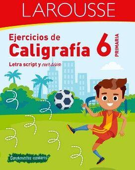 EJERCICIOS DE CALIGRAFÍA 6° DE PRIMARIA
