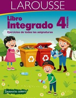 LIBRO INTEGRADO 4 PRIM. -EJERCICIOS DE TODAS LAS ASIGNATURAS-