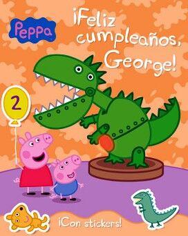 FELIZ CUMPLEAÑOS GEORGE! (C/STICKERS)