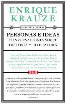PERSONAS E IDEAS -CONVERSACIONES SOBRE HISTORIA Y LITERATURA-