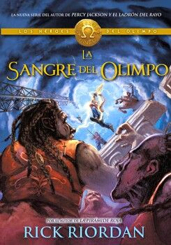 SANGRE DEL OLIMPO, LA -LOS HEROES DEL OLIMPO V-