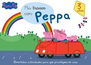 PEPPA PIG -MIS TRAZOS CON PEPPA-     (3 AÑOS)