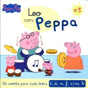 PEPPA PIG -LEO CON PEPPA NO.3-